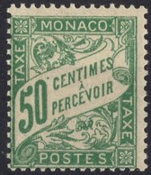 MONACO TAXE N** 20  MNH - Portomarken