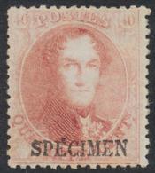 """Médaillon Dentelé - N°16B** Neuf Sans Charnières + Surcharge """"SPECIMEN"""". TB (NL) - 1863-1864 Medaillons (13/16)"""