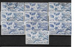 LIQUIDATION / Lot De 10 Exemplaires A.O.F.  (NIGER) P.A. N° 13 Oblitérés // JE PEUX DIVISER (0.90 Euro à L'UNITE ) !!!!! - Service