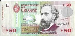 Uruguay - 50 Pesos 2011 - Série E - N° 10678313 - TTB - - Uruguay