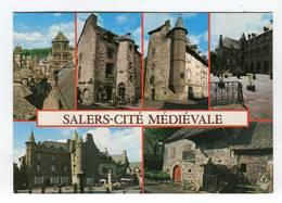 C.P °_ 15-Salers-Citée Montagnarde Moyennageuse-à 986 Mètres - France