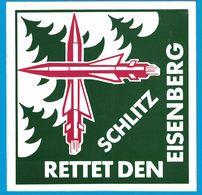 AUTOCOLLANT SCHLITZ RETTET DEN EISENBERG - Pegatinas