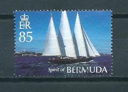 2007 Bermuda 85c Zeilen,sailing Used/gebruikt/oblitere - Bermudes