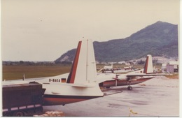 Aeroporto Villanova D'Albenga (SV) - Airport//aviation/aircraft/airplane/aeroplane - German Fokker 27 - Aérodromes