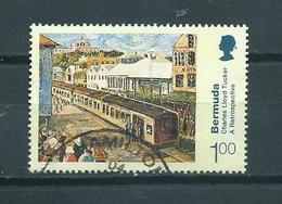 2001 Bermuda 100c Art,kunst Used/gebruikt/oblitere - Bermudes