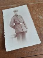 MANN IN DEUTSCHLAND DAZUMAL - JUNGER SOLDAT IN POSE - APOLDA - WIDMUNG - 1919 - Krieg, Militär