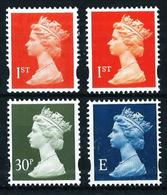 Gran Bretaña Nº 2065Ab-2065Ac-2065B-2074 Nuevo - 1952-.... (Elizabeth II)