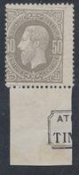 """émission 1869 - N°35** Neuf Sans Charnières MNH + BDF """"Atelier Du Timbre"""" (Partiel)  (NL) - 1869-1883 Leopold II"""