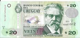 Uruguay - 20 Pesos 2011 - Série F - N° 52251912 - TTB - - Uruguay