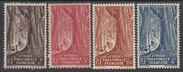 AFRIQUE EQUATORIALE FRANCAISE - AEF - A.E.F. - 1947 - YT 217/220** - A.E.F. (1936-1958)