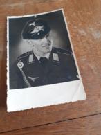 DEUTSCHER MANN DAZUMAL - HOCHDEKORIERTER DEUTSCHER OFFIZIER IN TSCHECHIEN - AUSSIG - USTI NAD LABEM - WIDMUNG - Krieg, Militär