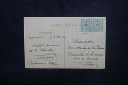 NOUVELLE CALÉDONIE - Affranchissement De Nouméa Sur Carte Postale En 1914 Pour Paris - L 53790 - Nouvelle-Calédonie