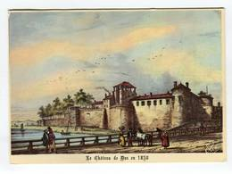 C.P °_ 40-Dax-1830-Son Chateau Et Fortifications-1981 - Dax