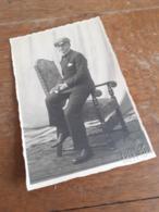 JUGEND IN DEUTSCHLAND DAZUMAL - JUNGER MANN MIT BIBEL UND SCHIRMMUETZE - KONFIRMATION - WIDMUNG - WIESBADEN 1931 - Anonyme Personen