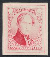 Réimpression De Gand (1949) - Proposition Non Adopté De J. Delpierre : Carmin Pâle. (NL) - Proofs & Reprints