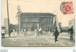 CHINE - SHANGHAI - Garden Bridge (timbre Hong Kong) - Chine