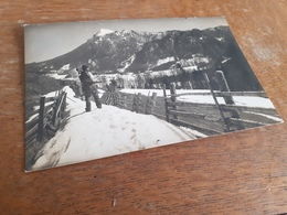 LANDWIRTSCHAFT IN DEUTSCHLAND DAZUMAL - BAUER MIT WERKZEUG - 1915 - Von TRAUNSTEIN Nach WALD CHAM OBERPFALZ - Anonyme Personen