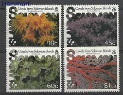 Solomon Islands 1987 Mi 633-636 MNH ( ZS7 SLI633-636 ) - Salomon (Iles 1978-...)