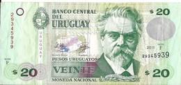 Uruguay - 20 Pesos 2011 - Série F - N° 29345939 - TTB - - Uruguay
