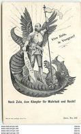 Vive Zola, Le Vengeur - Hoch Zola, Dem Kämpfer Für Wahrheit Und Recht - Satirische