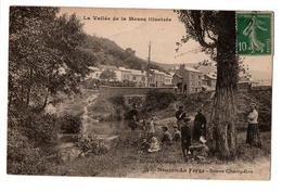 NOUZON LA FORGE SCENE CHAMPETRE TRES ANIMEE - France