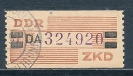 DDR Dienstmarken B 29 Kennbuchstabe DA Ungültigkeitsentwertung Mi. 35,- - DDR