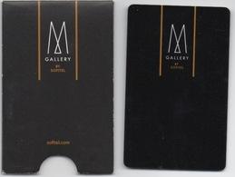 Carte Clé Avec Pochette : M Gallery By Sofitel : France - Cartes D'hotel