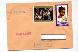 Lettre Flamme Muette Lome Sur Noel Coiffure - Togo (1960-...)