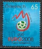 Autriche 2008 N°2535 Oblitéré Football Euro 2008 - 1945-.... 2ème République