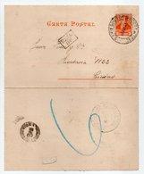 - CARTA POSTAL BUENOS AIRES (Argentine) 12.5.1894 - - Entiers Postaux