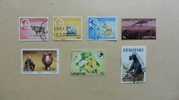 Afrique > Lesotho  : 7 Timbres Oblitérés - Lesotho (1966-...)