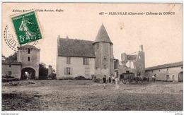 ENVIRONS ALLOUE PLEUVILLE CHATEAU DE GORCE 1912 TBE - France