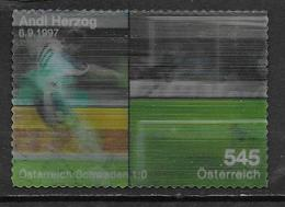 Autriche 2008 N°2559 Oblitéré Football Euro 2008 - 1945-.... 2ème République