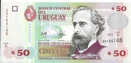 Uruguay - 50 Pesos 2011 - Série E - N° 20164108 - Neuf - Non Circulé - - Uruguay