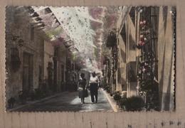 CPSM ESPAGNE - NOVELDA - Rue Daoiz Et Velarde En Fêtes De La Patronne Sainte M. Madeleine - ANIMATION TB Photo - Autres