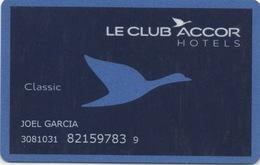 Carte Membre Hôtels : Le Club Accor Hotels - Cartes D'hotel