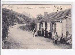 LARGNAC : La Maison PEYTHIEU FERIEL (café) - état - Altri Comuni
