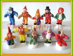 Clowns 2004 ...Série Complète .. Ref AFF : 4-2004 ...(pan 0026) - Personnages