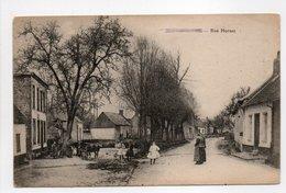- CPA VIGNACOURT (80) - Rue Hornas (avec Personnages) - - Vignacourt