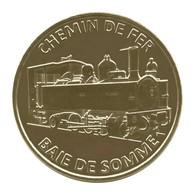 Monnaie De Paris , 2018 , Saint Valery Sur Somme , Baie De Somme , Chemin De Fer 031 Buffaud Robatel - Monnaie De Paris