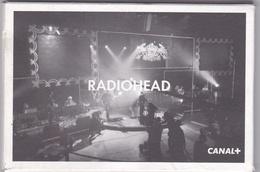 """¤¤   -  Le Groupe """" RADIOHEAD """" - Lot De 12 Cartes + La Pochette - Carte Publicitaire De """" CANAL + """" En 2001  -  ¤¤ - Entertainers"""