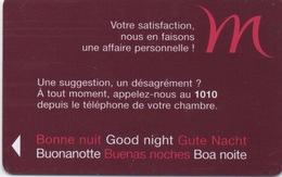 Carte Clé Hôtel : Mercure (6 Langues FR GB DE IT ES PT) - Cartes D'hotel