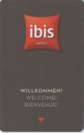 Carte Clé Hôtel : Ibis (3 Langues DE GB FR) - Cartes D'hotel