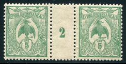 NOUVELLE CALEDONIE - N° 91 MILLÈSIME 2 , SANS CHARNIÈRE - LUXE - Nouvelle-Calédonie