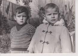 PILORGE LA VENDEE. ENFANT SAUVE DE LA NOYADE PAR COUSIN. 1962. 18*13 CM - Geïdentificeerde Personen