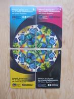 Private GPT Phonecard,1SPWA,B,C,D Hewlett& Packard,puzzle Set Of 4,mint - Singapore