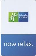Carte Clé Hôtel : Holiday Inn Express Marseille : Now Relax. - Cartes D'hotel