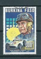 1995 Burkina Faso J.M Fangio Used/gebruikt/oblitere - Burkina Faso (1984-...)