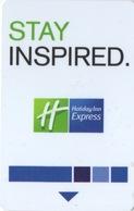 Carte Clé Hôtel : Holiday Inn : Stay Inspired. - Cartes D'hotel