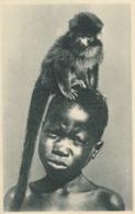 CPA - Deux Bons Amis - - Congo Français - Autres